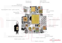 Apple Watch's S1 system in a package