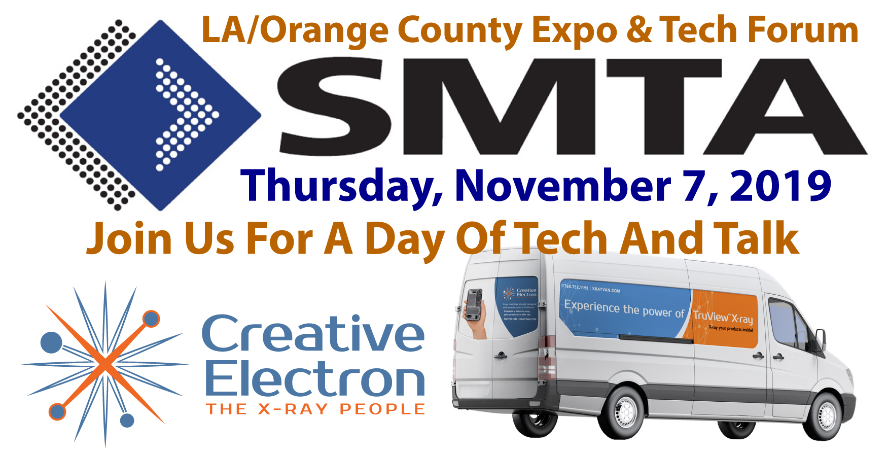 LA/Orange County Expo & Tech Forum Thursday, November 7, 2019