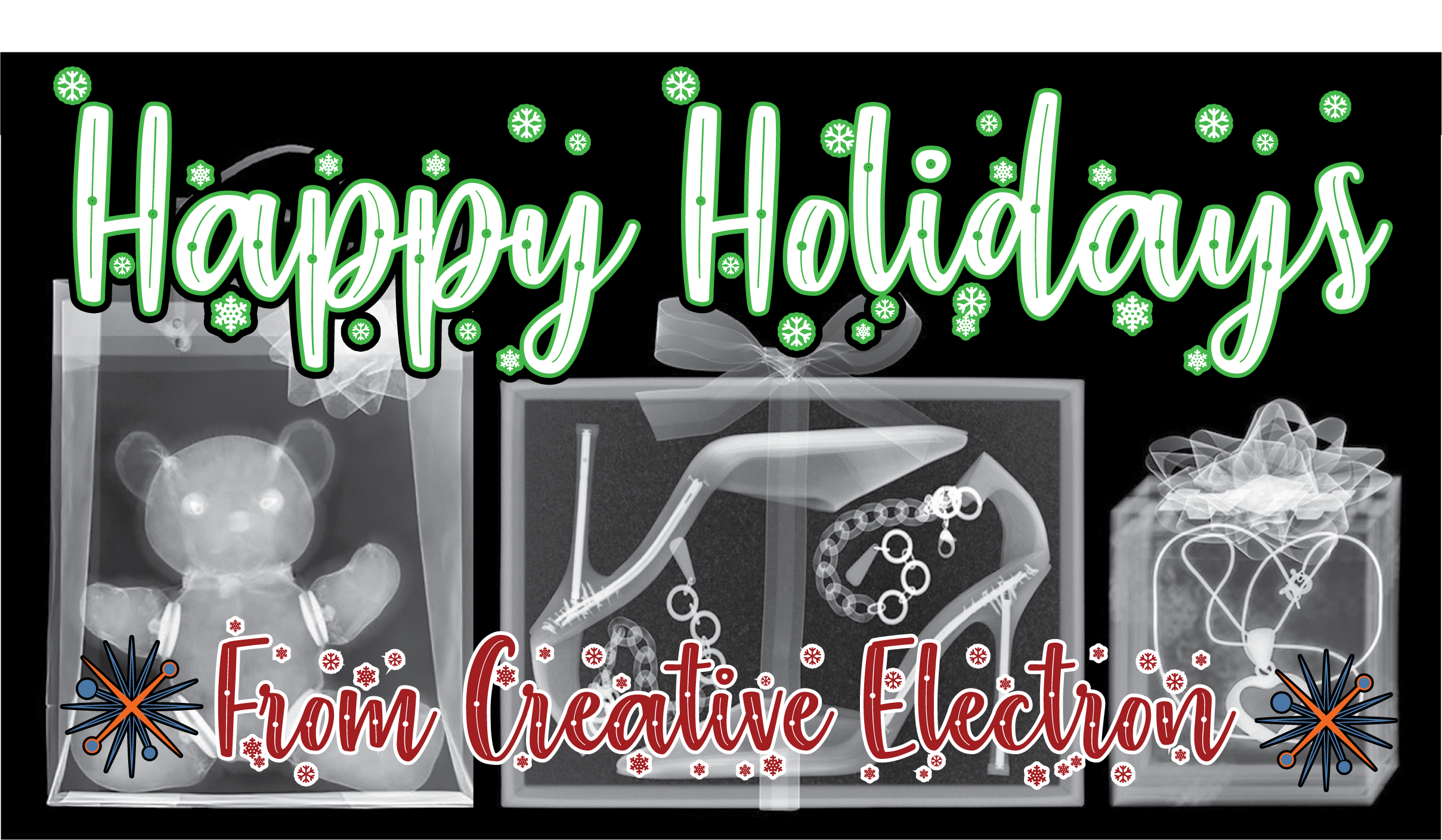 Happy Holidays from Creative Electron
