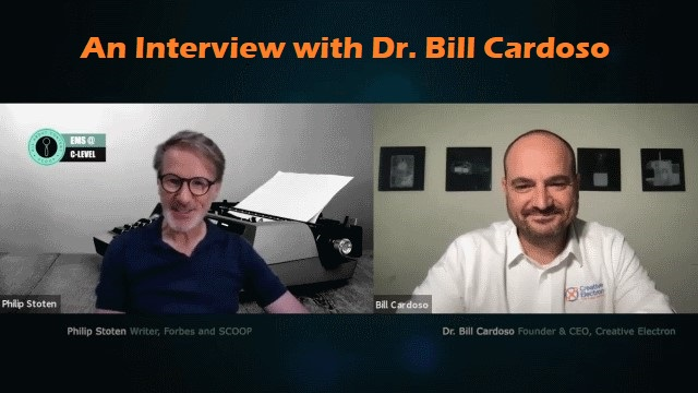 EMS@C-LEVEL: Philip Stoten's interview with Dr. Bill Cardoso