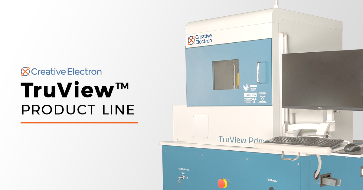 TruView™ X-ray Inspection Product Lineup