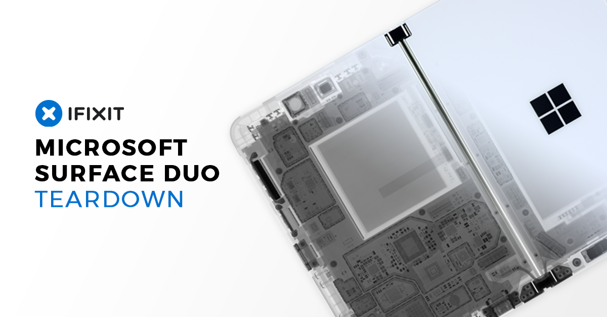IFixit Microsoft Surface Duo Teardown