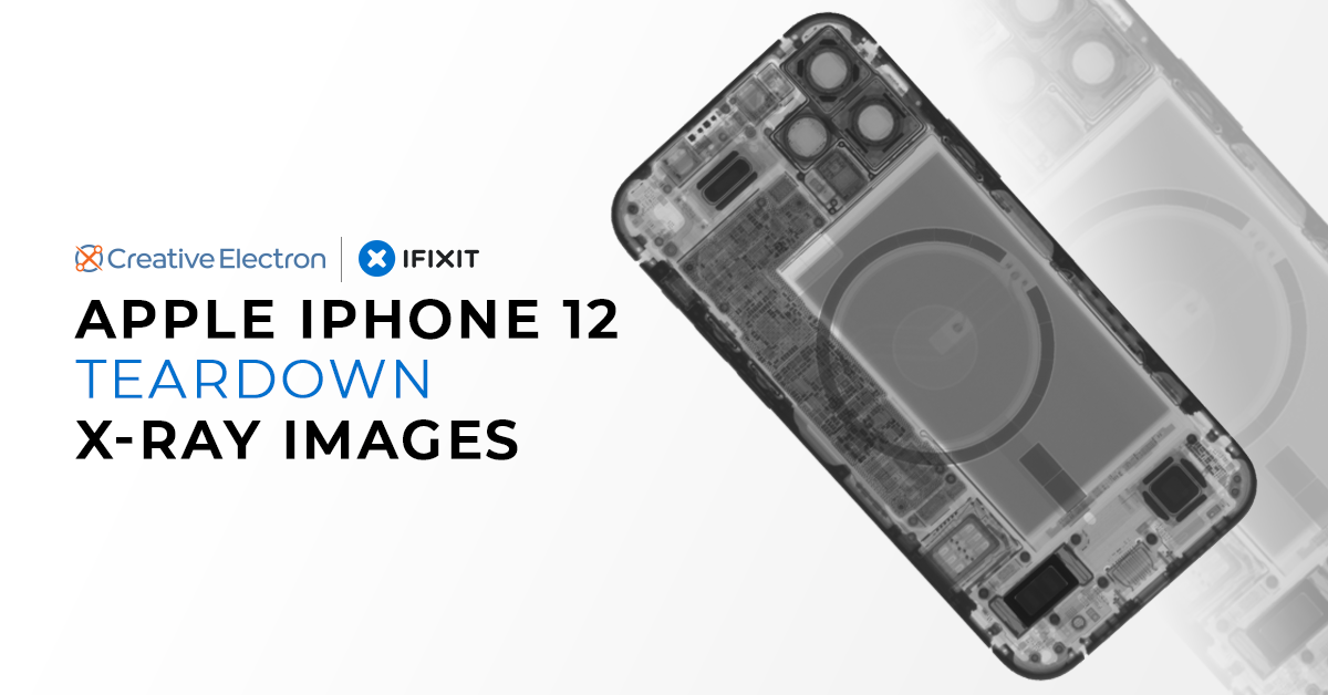 Apple iPhone 12 Teardown X-ray Images