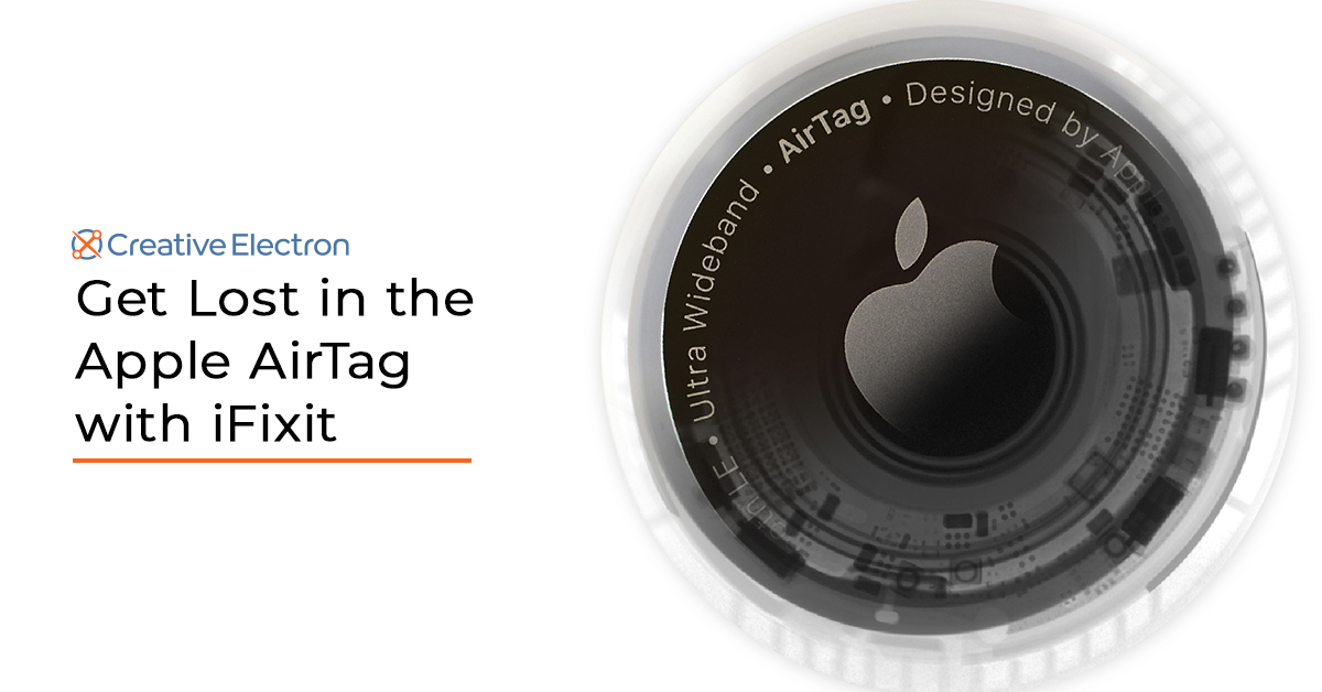Get Lost in the Apple AirTag with iFixit