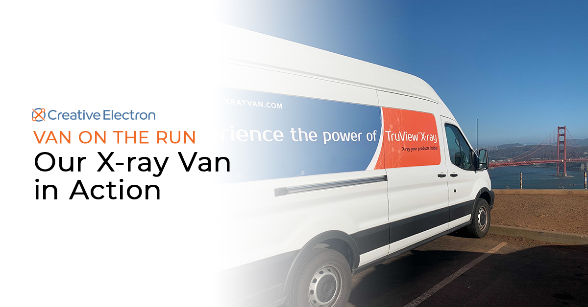 Van on the Run: Our X-ray Van in Action