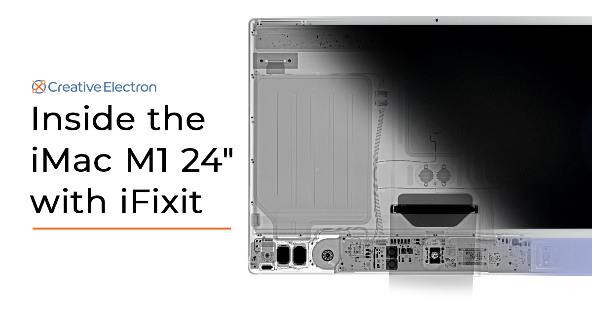 Inside the iMac M1 24″ with iFixit