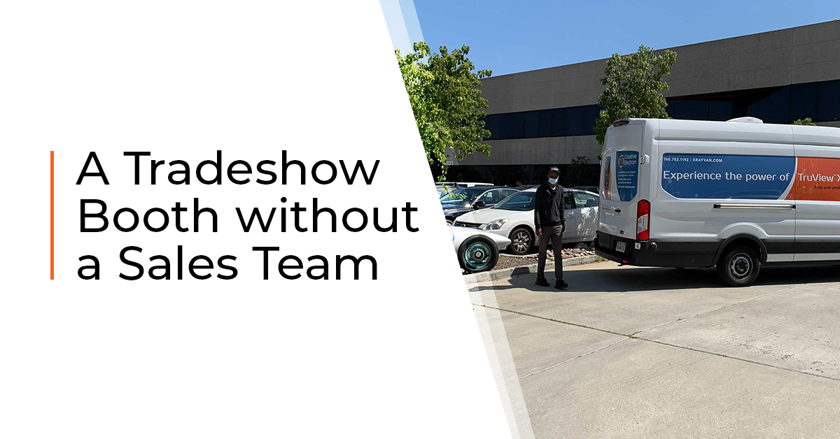 A Tradeshow Booth without a Sales Team