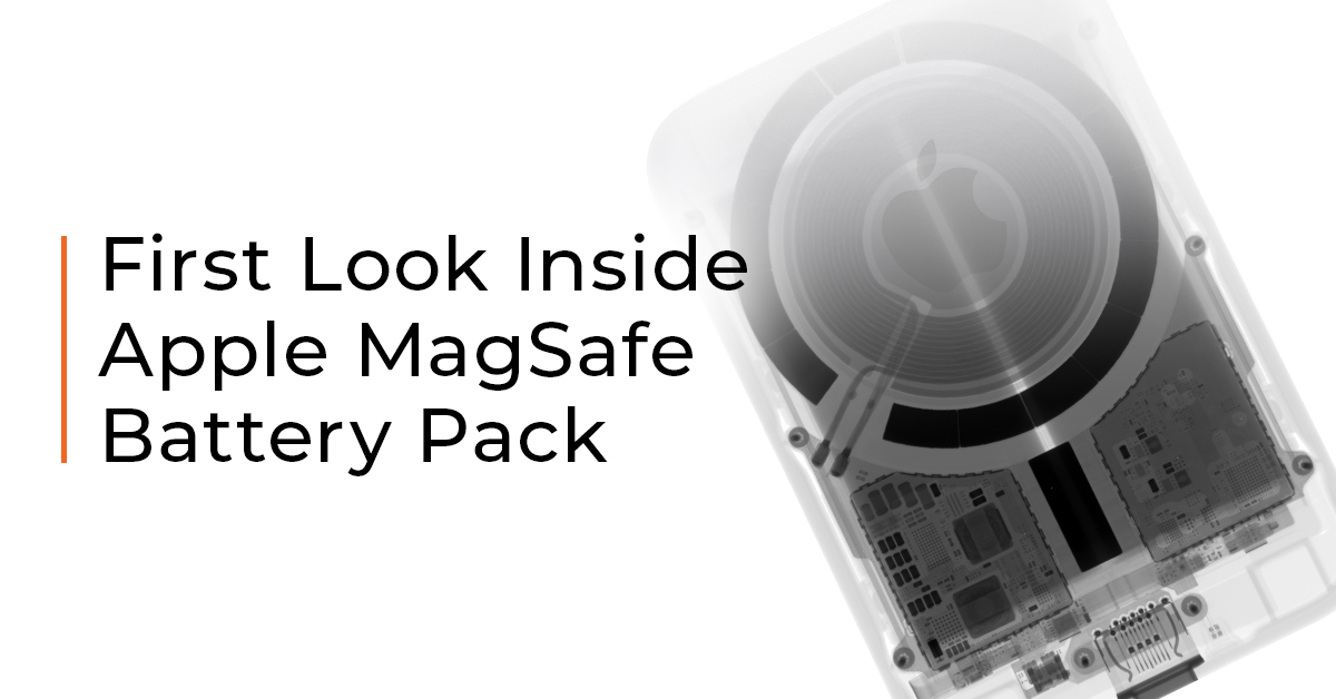 First Look Inside Apple MagSafe Battery Pack